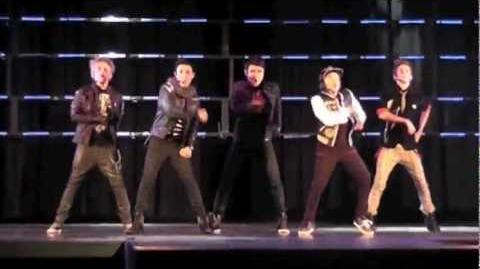 """IM5"" Debut Performance at Youth Rock Awards (12 7 2011)"