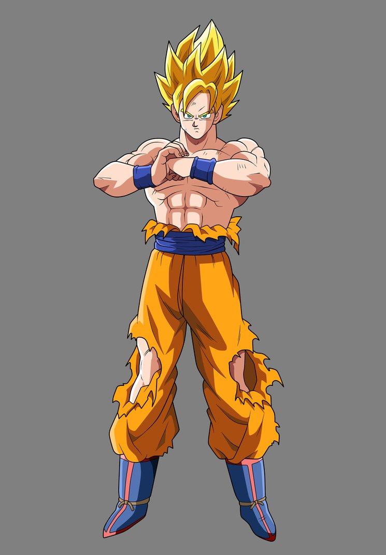 Goku SSJ Batalla de Freezer  Imaball z Wiki  FANDOM powered by