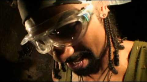 David Haye's Well of Hell Bush Tucker Trial on I'm a Celebrity Get Me Out of Here 2012