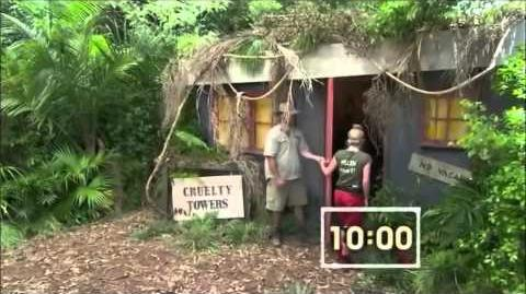 I'm A Celebrity 2012 - Bush Tucker Trial 4 - Cruelty Towers (15 11 2012)