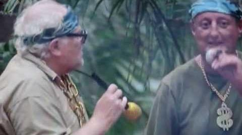 COLIN BAKER AND ERIC BRISTOW FUNNY RAP - I'M A CELEBRITY GET ME OUT OF HERE 2012!