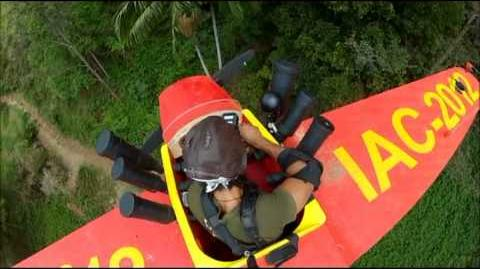 David Haye's Scare Plane Bush Tucker Trial on I'm a Celebrity Get Me Out of Here 2012