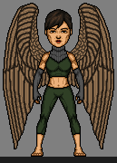 Winged huntress by treforable-d9wcv45