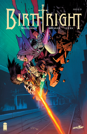 Cover for Birthright #13 (2016)