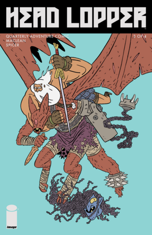 Cover for Head Lopper #3 (2016)