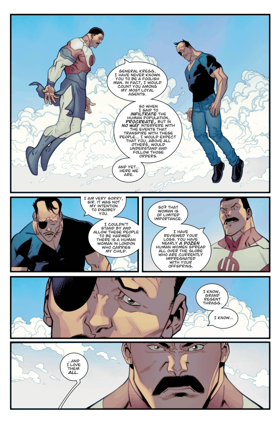 Impreg Comics Great invincible vol 1 96 | image comics database | fandom poweredwikia