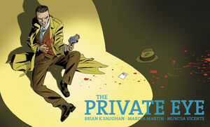 Cover for The Private Eye #6 (2015)