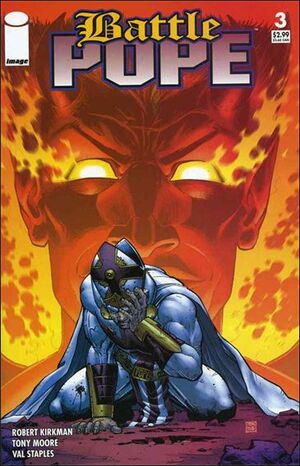 Cover for Battle Pope #3 (2005)