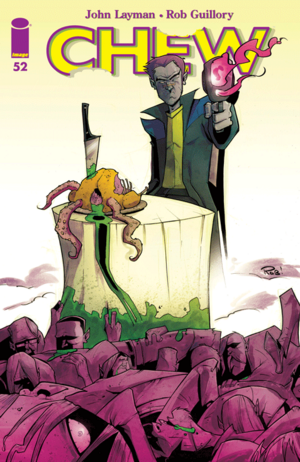 Cover for Chew #52 (2015)