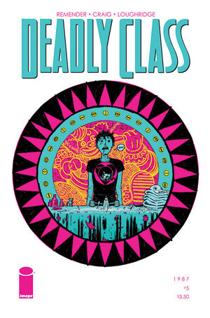 Cover for Deadly Class #5 (2014)