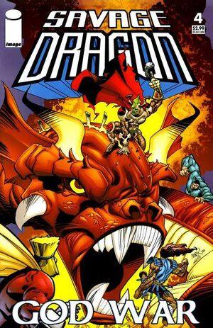 Cover for Savage Dragon: God War #4 (2005)