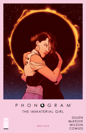 Cover for Phonogram: The Immaterial Girl #6 (2016)