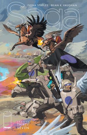 Cover for Saga #37 (2016)