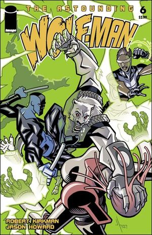 Cover for Astounding Wolf-Man #6 (2008)
