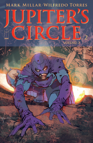Cover for Jupiter's Circle #2 (2015)