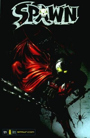 Cover for Spawn #121 (2002)