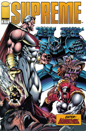 Cover for Supreme #3 (1993)