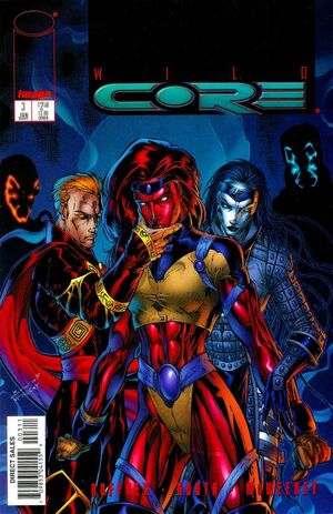 Cover for Wildcore #3 (1998)
