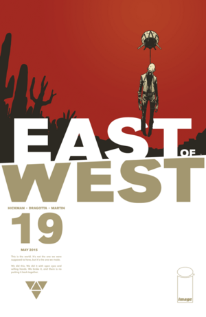 Cover for East of West #19 (2015)