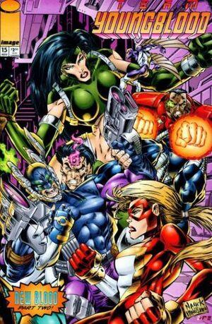 Cover for Team Youngblood #15 (1994)