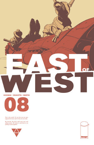 Cover for East of West #8 (2013)