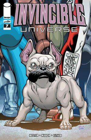 Cover for Invincible Universe #7 (2013)