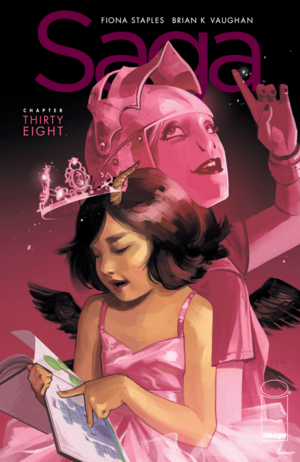 Cover for Saga #38 (2016)