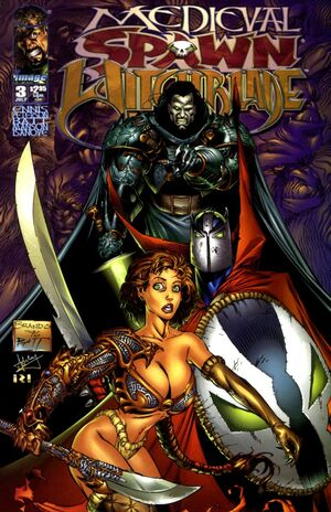 Cover for Medieval Spawn/Witchblade #3 (1996)