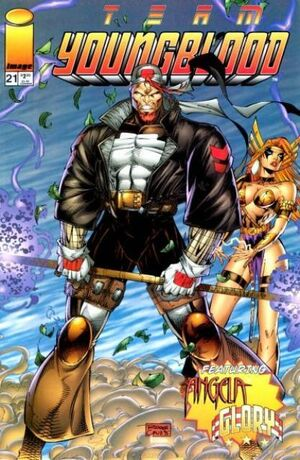 Cover for Team Youngblood #21 (1996)