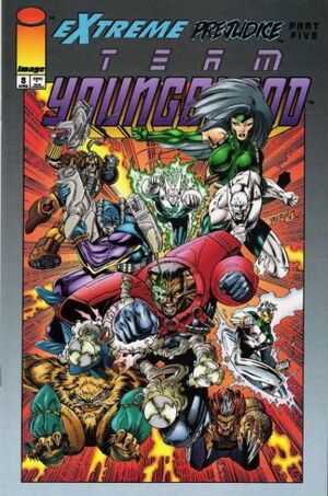 Cover for Team Youngblood #8 (1994)