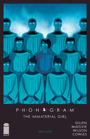 Cover for Phonogram: The Immaterial Girl #3 (2015)