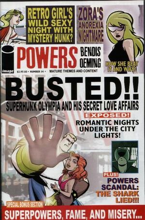 Cover for Powers #14 (2001)
