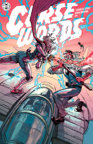 Cover for Curse Words #5 (2017)