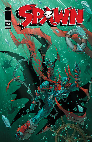 Cover for Spawn #254 (2015)