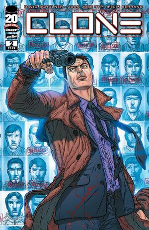 Cover for Clone #2 (2012)