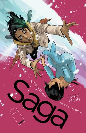 Cover for Saga #28 (2015)