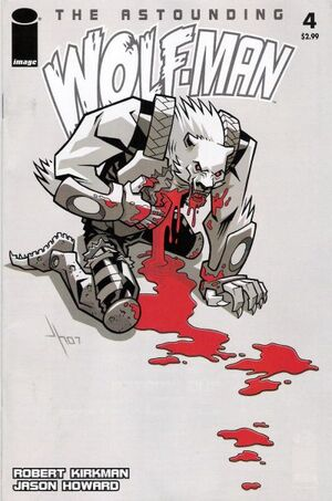 Cover for Astounding Wolf-Man #4 (2007)