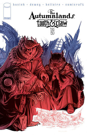 Cover for The Autumnlands #5 (2014)