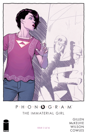 Cover for Phonogram: The Immaterial Girl #2 (2015)