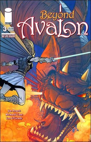 Cover for Beyond Avalon #3 (2006)