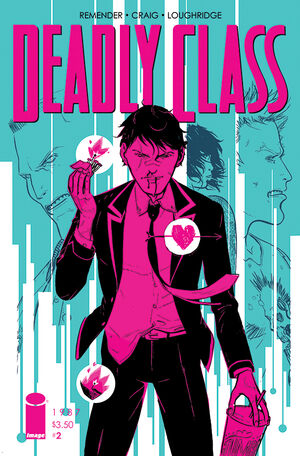 Cover for Deadly Class #2 (2014)