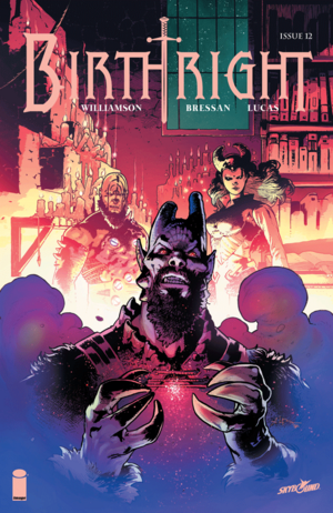 Cover for Birthright #12 (2015)