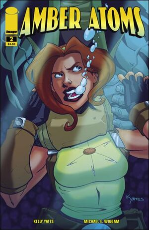 Cover for Amber Atoms #2 (2009)