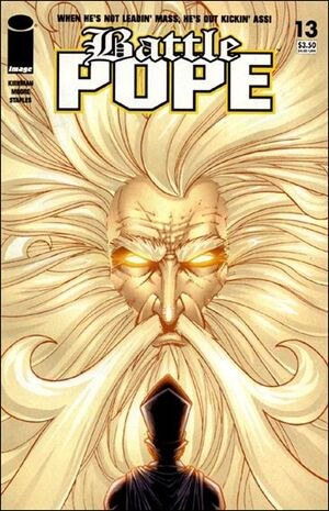 Cover for Battle Pope #13 (2007)