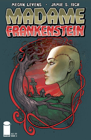 Cover for Madame Frankenstein #2 (2014)