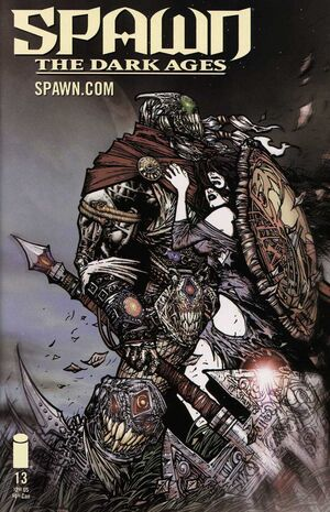 Cover for Spawn The Dark Ages #13 (2000)