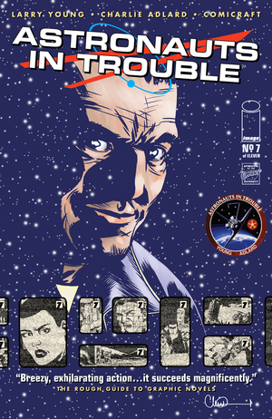 Cover for Astronauts in Trouble #7 (2015)