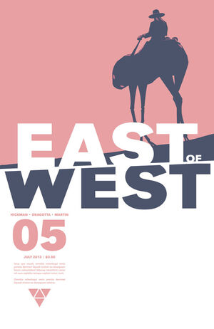 Cover for East of West #5 (2013)