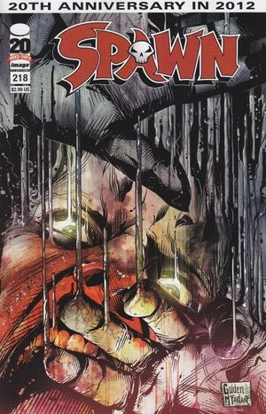 Cover for Spawn #218 (2012)