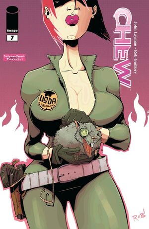 Cover for Chew #7 (2009)